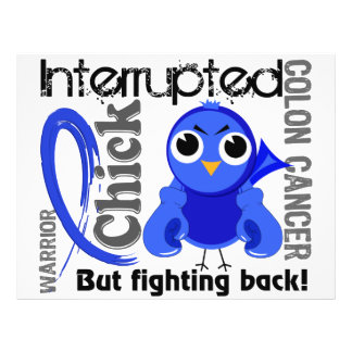 Chick Interrupted 3 Colon Cancer 21.5 Cm X 28 Cm Flyer