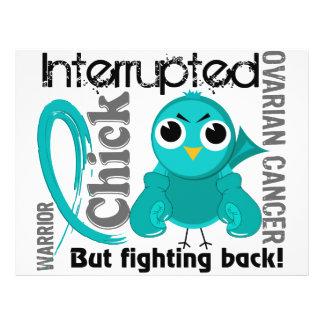 Chick Interrupted 3 Ovarian Cancer 21.5 Cm X 28 Cm Flyer