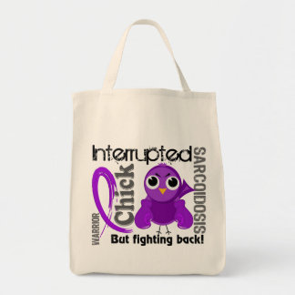 Chick Interrupted 3 Sarcoidosis Tote Bags