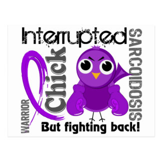 Chick Interrupted 3 Sarcoidosis Post Card