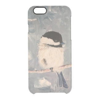 Chickadee Clear iPhone 6/6S Case