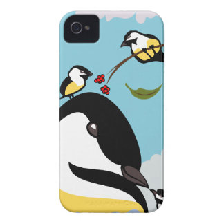 Chickadee Luv Case-Mate iPhone 4 Case
