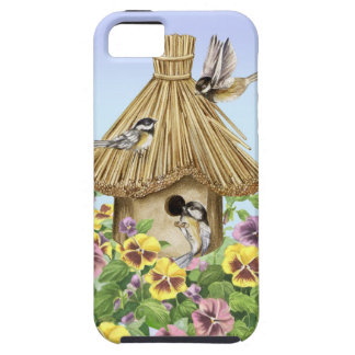 Chickadees Birdhouse iPhone 5 Case