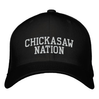 Chickasaw Nation Embroidered Hat
