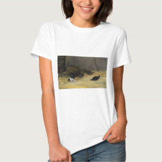 Chicken Coop by Paul Gauguin Shirts