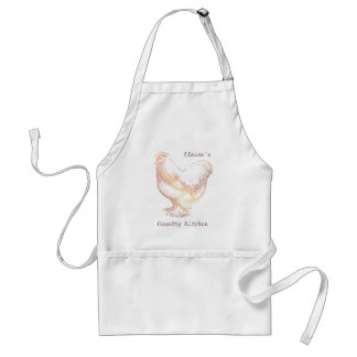 Chicken Country Kitchen Personal Apron