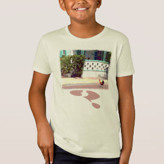 Chicken crosses road...WHY? T-Shirt