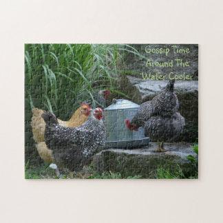 Chicken Gossip Puzzle