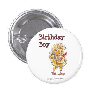 Chicken Party Center 3 Cm Round Badge