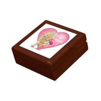 Chicken Valentine's Day Small Square Gift Box