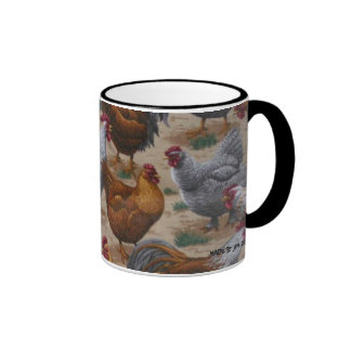 CHICKENS / ROOSTERS MUG