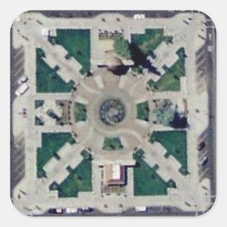 Chico Axis Square Sticker