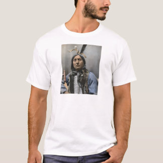 Chief Left Hand Bear Ogala Sioux Vintage T-Shirt