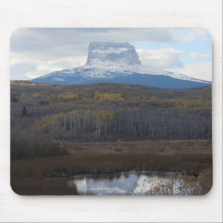 Chief Mountain View Mouse Pad
