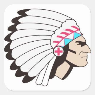 Chief Square Sticker