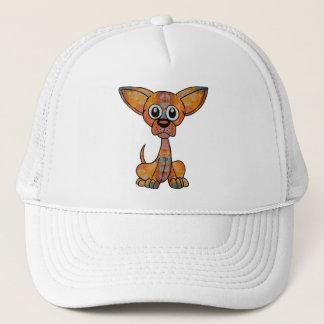 Chihuahua Batik Trucker Hat