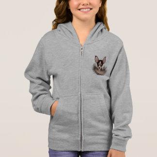 Chihuahua cartoon hoodie