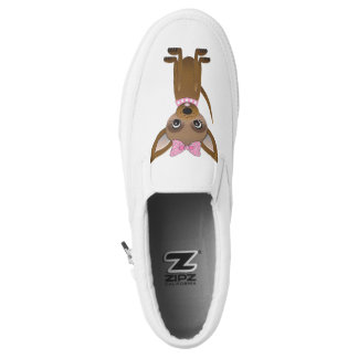 Chihuahua cartoon printed shoes