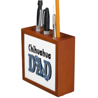 Chihuahua DAD Desk Organiser