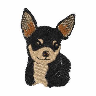Chihuahua Dog Art Embroidery Shirt
