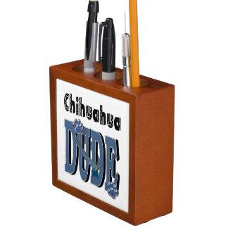 Chihuahua DUDE Desk Organiser