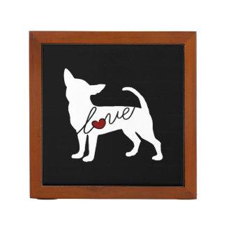 Chihuahua Love Desk Organiser