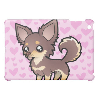 Chihuahua Love (long coat) (add your pern!) Cover For The iPad Mini