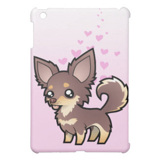 Chihuahua Love (long coat) iPad Mini Cases