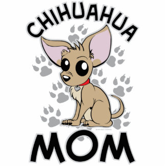 Chihuahua Mom Standing Photo Sculpture