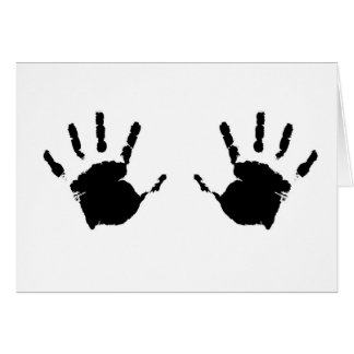 Child Handprints Card