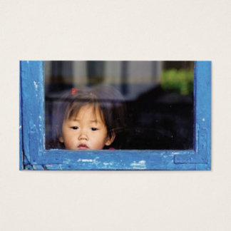 Child in the Window Business Card