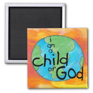 Child of God Square Magnet