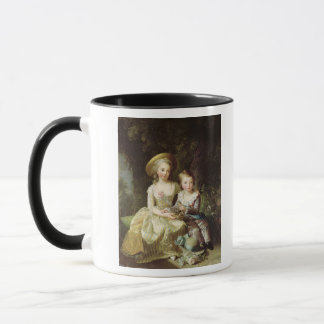 Child portraits of Marie-Therese-Charlotte Mug