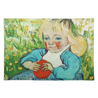 Child with Orange, 1890. Vincent van Gogh. Placemat