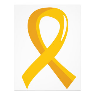 Childhood Cancer Gold Ribbon 3 Flyers