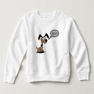 Childish dog sweatshirt