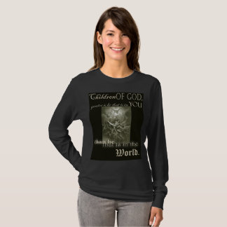 Children of God Long Sleeve Ladies T-Shirt