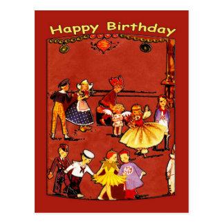 Children's Birthday Party Postcard