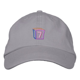 Childrens Block 7 Embroidered Hats