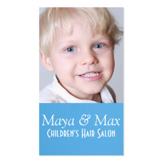51 childrens salon business cards and childrens salon for Childrens hair salon