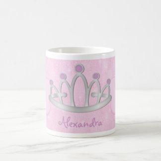 Child's Personalized Pink Princess Mug