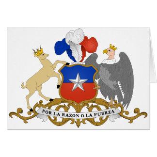 chile emblem card