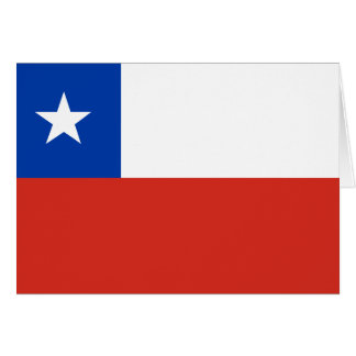 Chile Flag CL Card