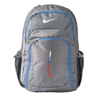 Chile Flag/Map Backpack