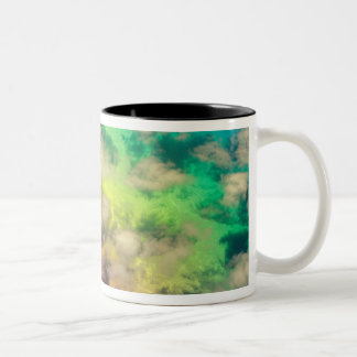 Chile - Landscape Aerial Shot | South America Two-Tone Coffee Mug