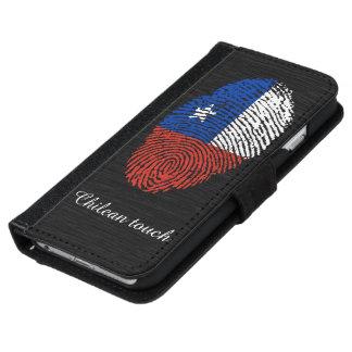 Chilean touch fingerprint flag iPhone 6 wallet case