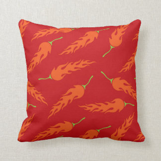 chili peppers cushion