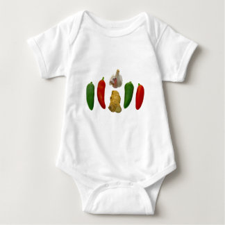 Chillies Garlic and Ginger Baby Bodysuit
