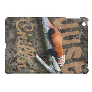 Chillin' Red Panda iPad Mini Cover