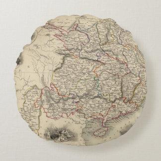 China And Burmah Round Cushion